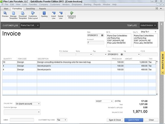 Using QuickBooks to Bill for Your Time | QB Services | Quickbooks ...