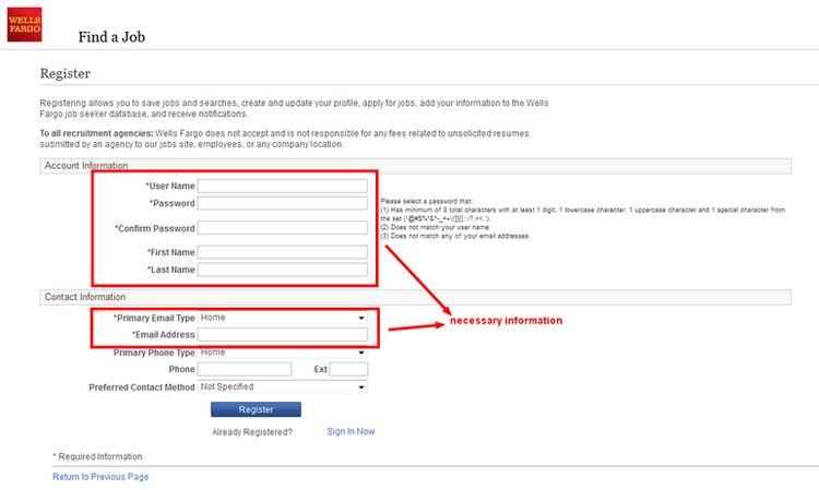 How to Apply for Wells Fargo Jobs Online at www.wellsfargo.com/careers