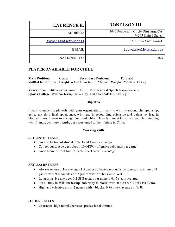 basketball coach resume sample coach resume example sample
