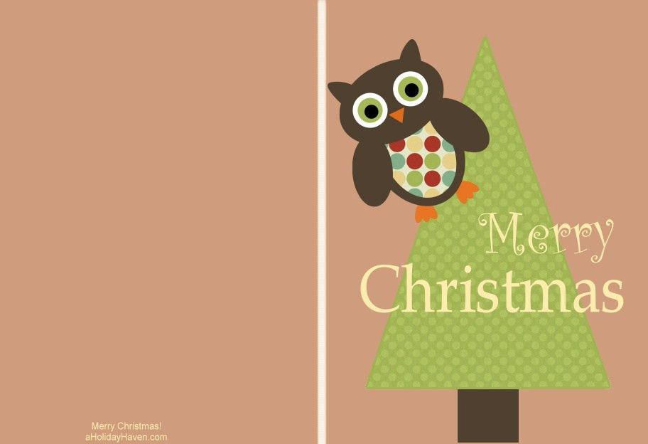 Free printable Christmas cards - T-Shirt Factory
