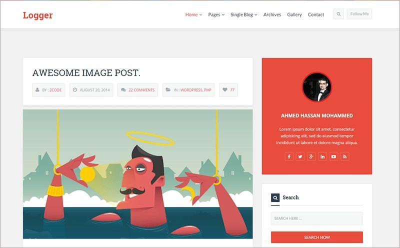 Bootstrap Blog Templates Free & Premium Themes | Creative Template