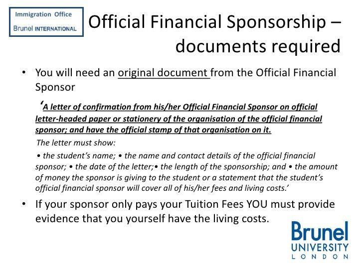 Sponsorship Letter Government. Sample Letter To Medical Officer ...