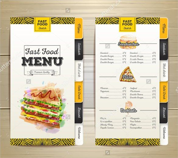 Birthday Menu Template – 17+ Free PSD, EPS, InDesign Format ...