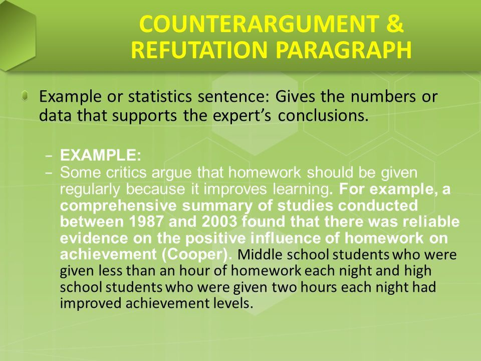 Counter Argument Step-By-Step. STUDENTS IN ELEMENTARY SCHOOL ...
