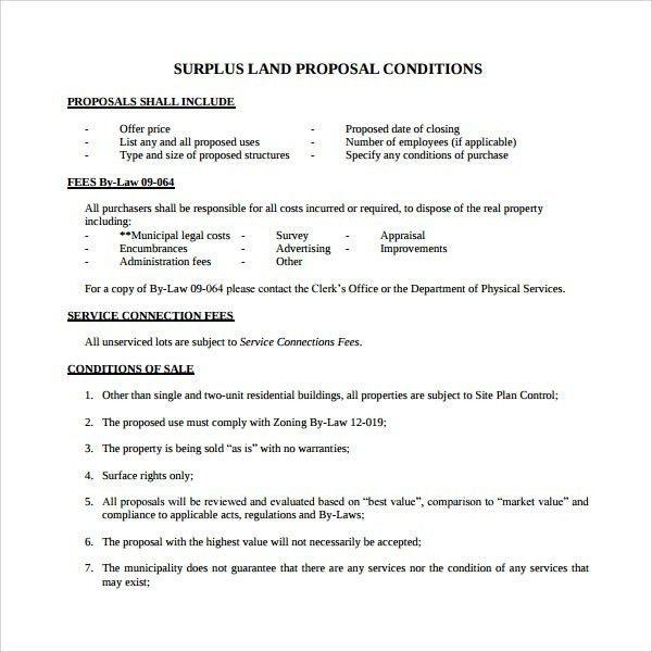 Purchase Proposal Template | Template idea