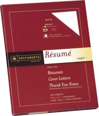 professional resume paper