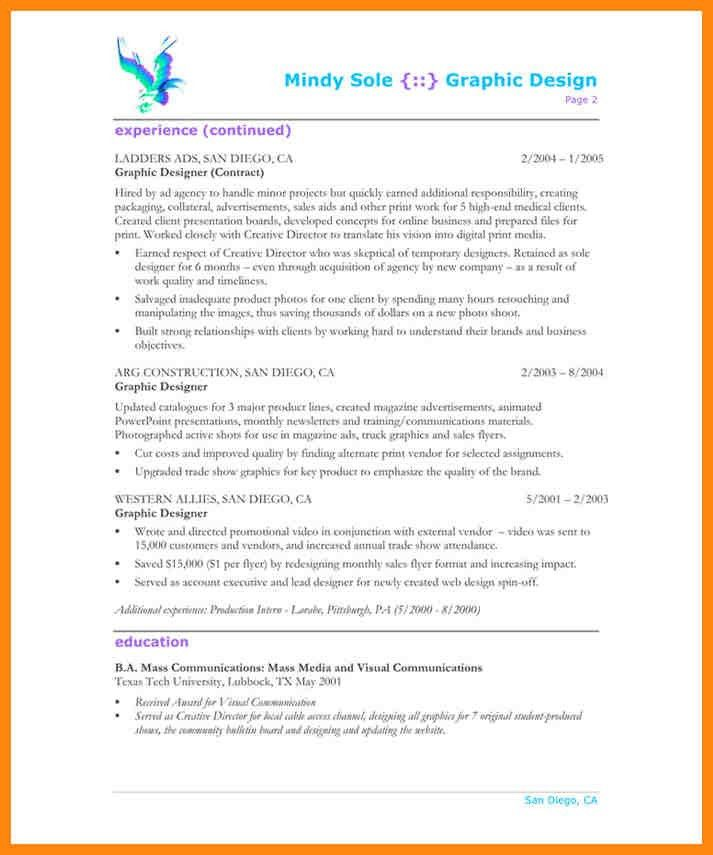 10+ graphic design resume pdf | nurse resumed