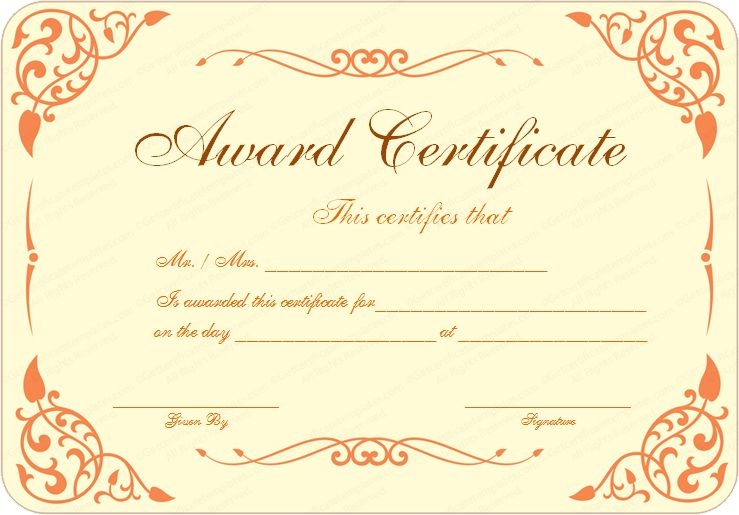 certificate-templateformal-award-certificate-templates-formal