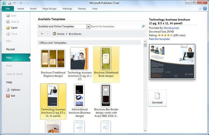 microsoft publisher website templates free download - Template