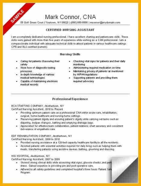 8+ cna resume skills | bursary cover letter