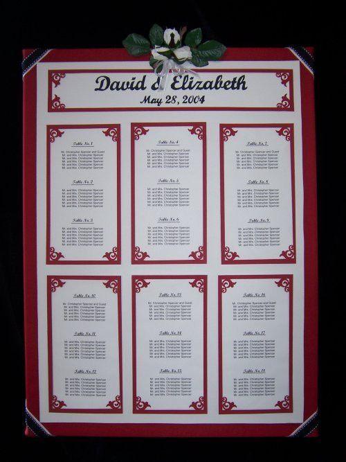 Wedding Seating Charts - Stylish Occasions Wedding & Event Planning