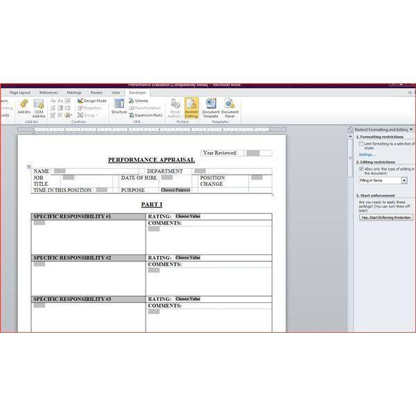 Employee Evaluations. Employee Evaluation Form Pdf | Employee ...