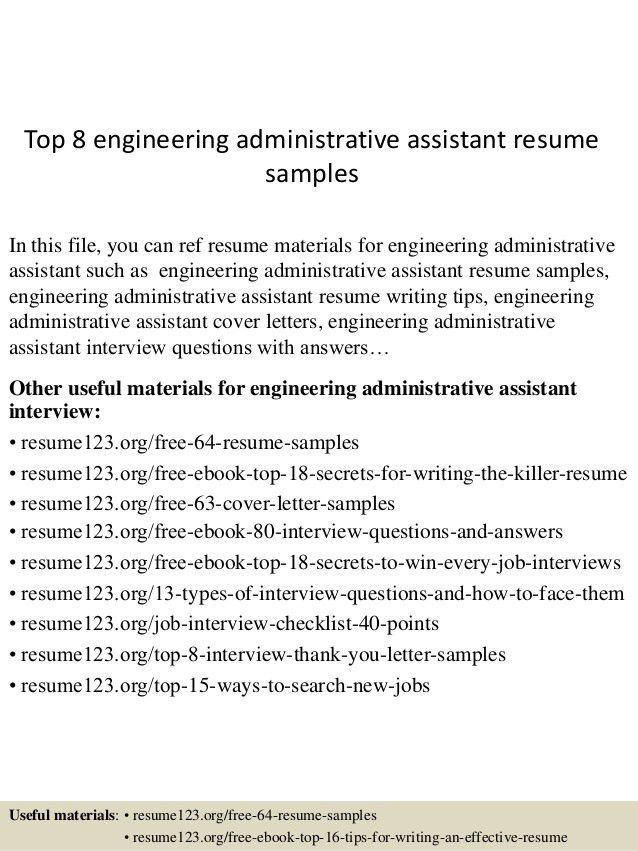 Examples Of Office Assistant Resumes. Objective For Resume ...