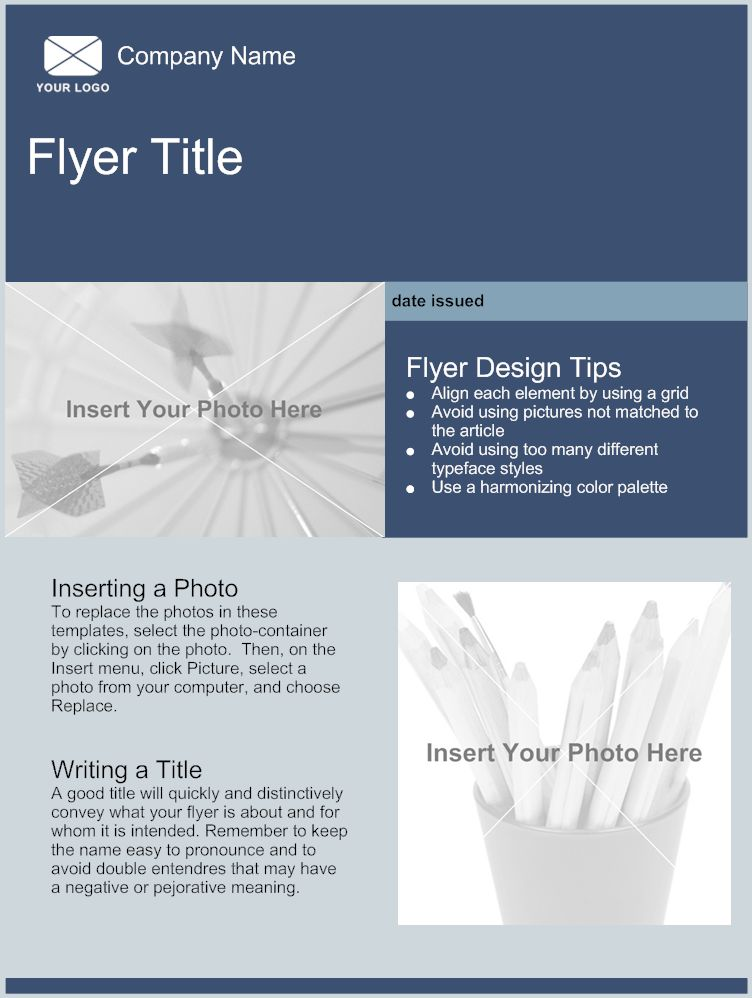make a flyer online free