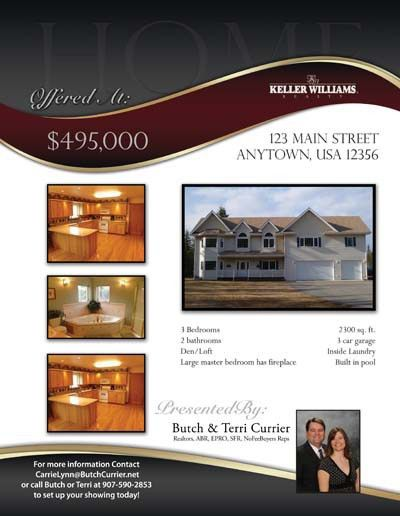 Real Estate Flier - Property Marketing - Real Estate Marketing ...