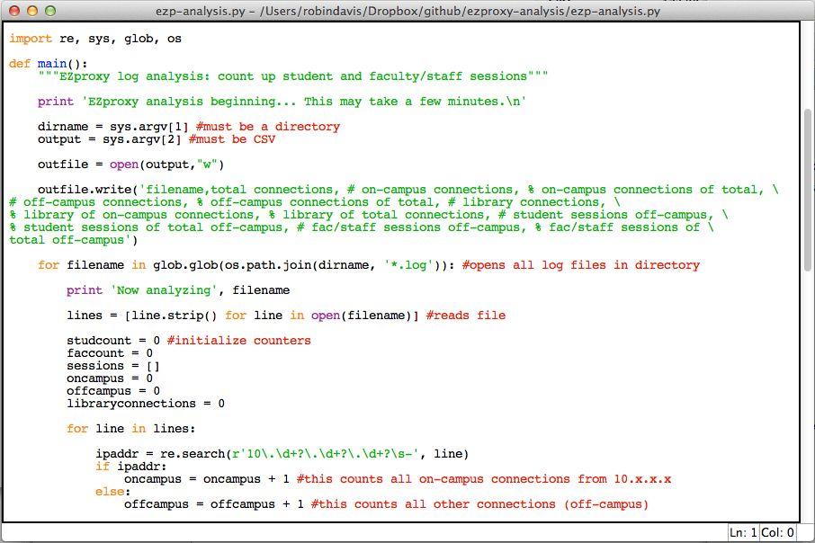 Analyzing EZProxy Logs ACRL TechConnect Blog