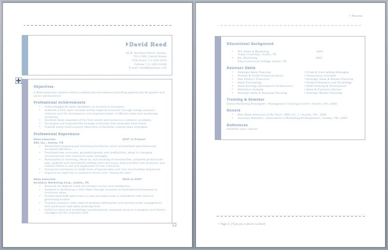 Auto Sales Representative Resume – Sample Resumes