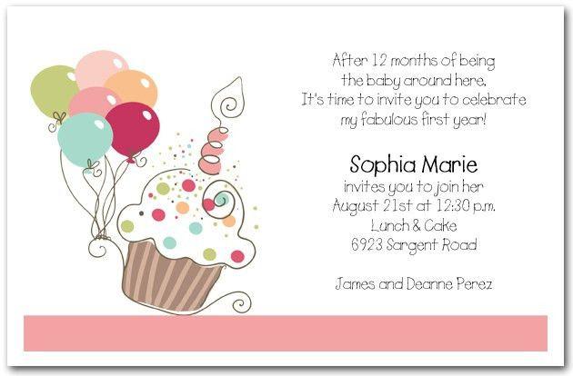 Birthday Invitation Text | badbrya.com