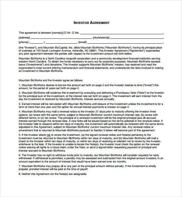 Subscription Agreement Template. Sample Hold Harmless Agreement ...