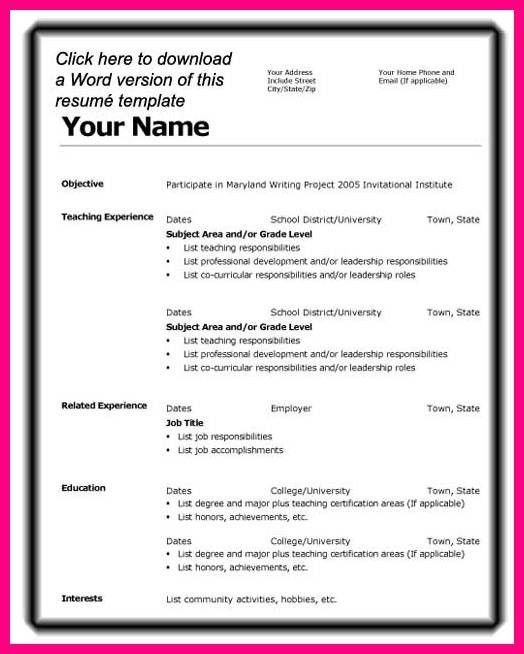 3 Teaching Application Form Examples