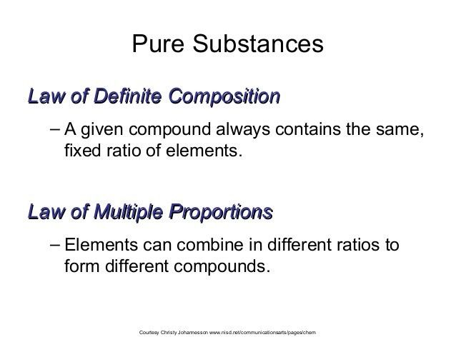 Ch. 2 classification of matter ppt