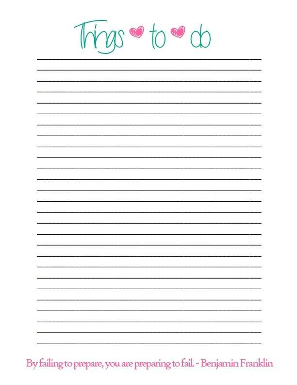 10 Best Images of Things To Do List - Things to Do List Template ...