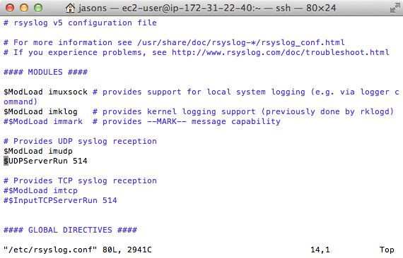 Python Syslog | Loggly