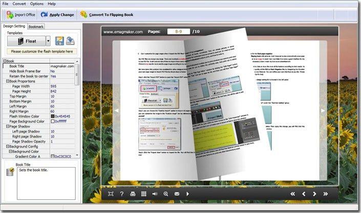 Convert Word Document to Flash Magazine - emagmaker.com