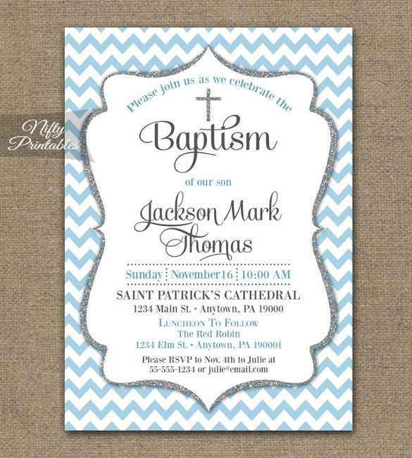 Baptism Invitation Template – 27+ Free PSD, Vector EPS, AI, Format ...