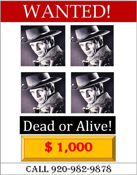 29 FREE Wanted Poster Templates (FBI and Old West)