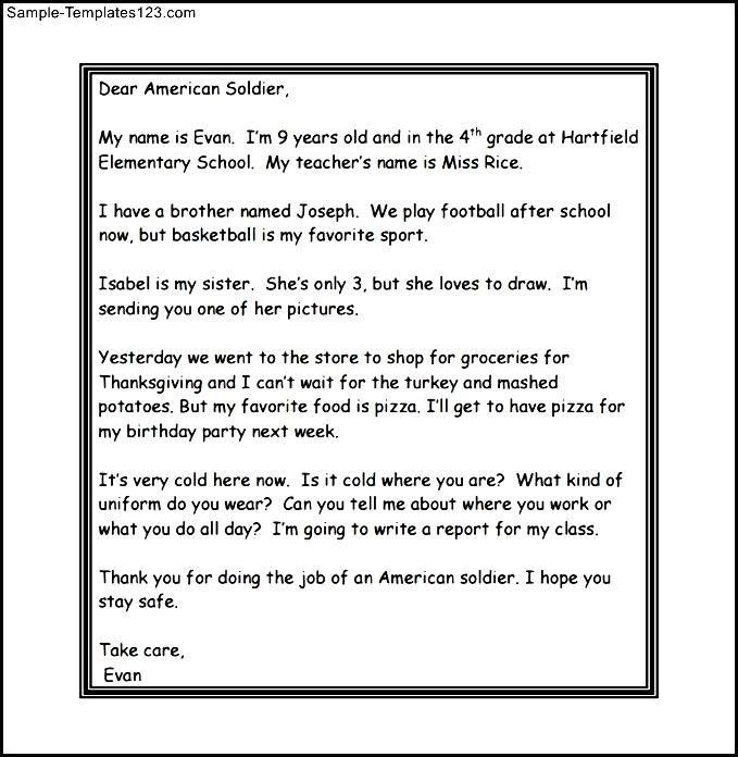 6 More Hilarious Letters From Kids To The Us Military The Thank ...