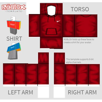 nike shirt template - ROBLOX
