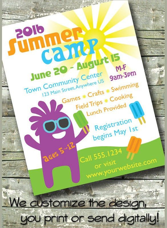 Summer Camp Flyer Template - 12+ Download Documents in PDF, PSD ...