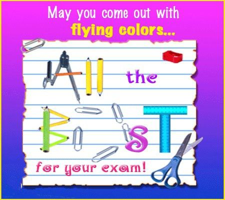 41 best Exam Wishes images on Pinterest | Exam wishes, Good luck ...
