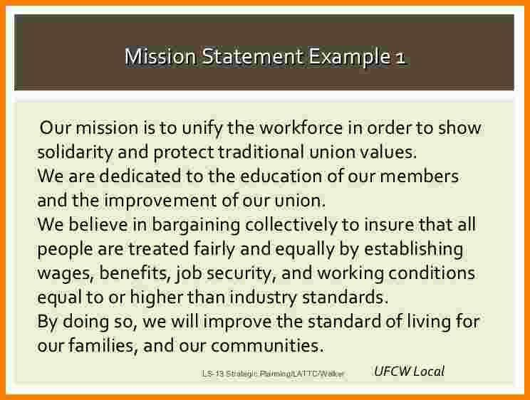 10+ examples of mission statements | Statement Information
