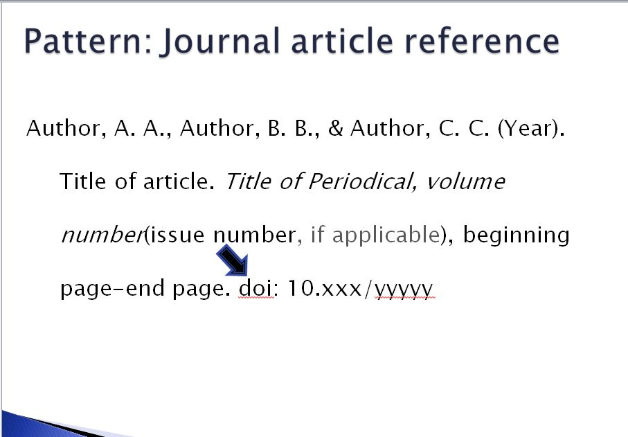 Apa Format Journal Article Reference Example - Compudocs.us
