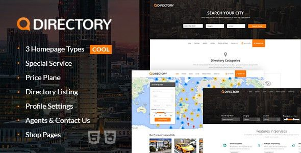 Global Directory Templates from ThemeForest