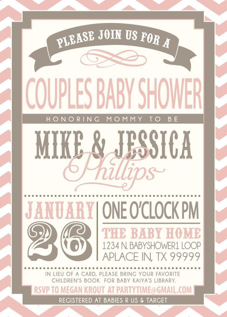 Coed Baby Shower Invitation Wording - marialonghi.Com