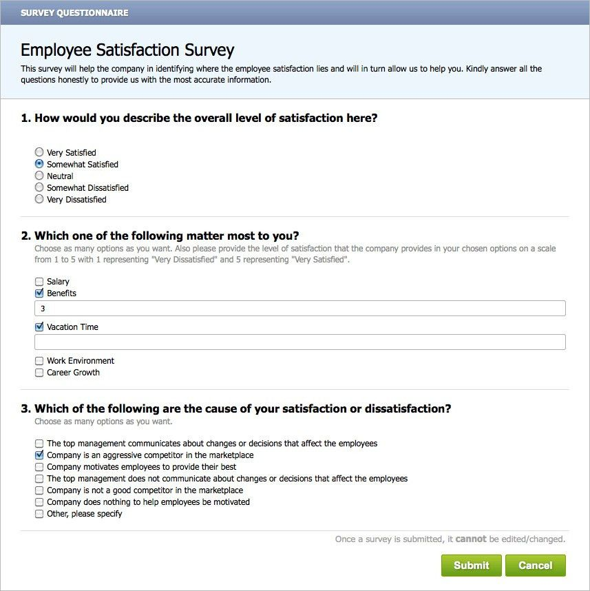 Employee Retention - Surveys