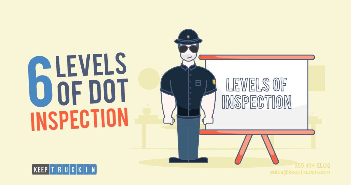 6 Levels of DOT Inspection Drivers Must Know : Electronic Logbook ...