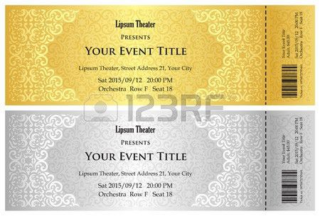Concert Ticket Stock Photos. Royalty Free Concert Ticket Images ...