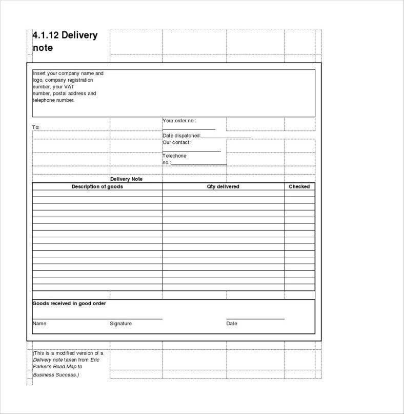 9+ Delivery Order Examples Free Samples, Examples Download | Free ...