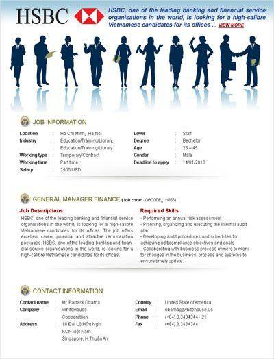 Outstanding job templates