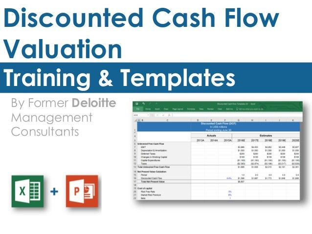 Discounted Cash Flow Model Template in Excel | By ex-Deloitte Consult…