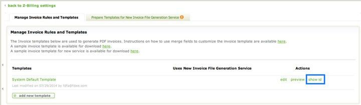 Creating a Custom Invoice Template - Zuora