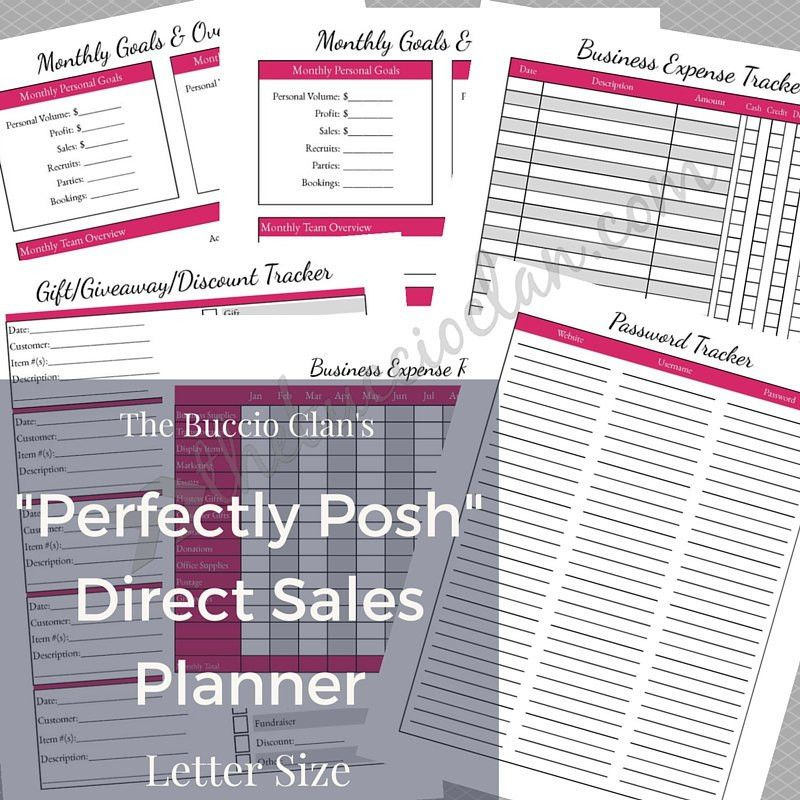 New to GracefulPrintables on Etsy: Perfectly Posh - Direct Sales ...