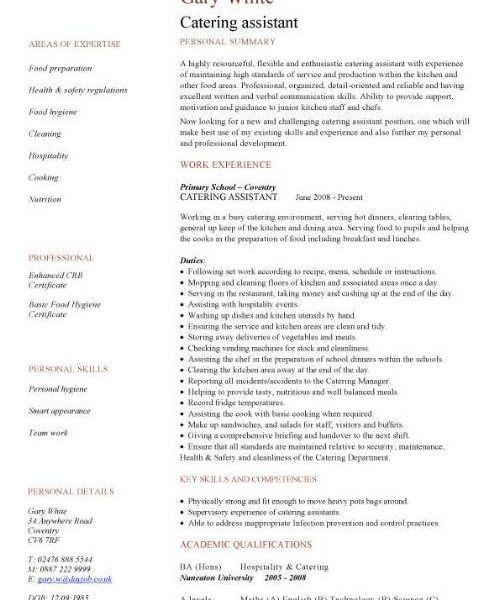 Cafe Worker Sample Resume Professional Coffee Shop Worker Templates