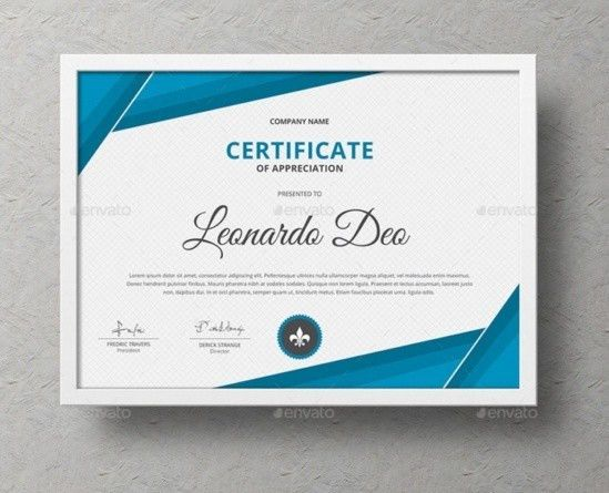 Certificate of Recognition Template Word, EPS, Ai and PSd Format ...