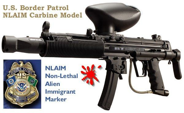 U.S. Border Patrol Replaces Guns with NLAIM Paint Markers « Daily ...