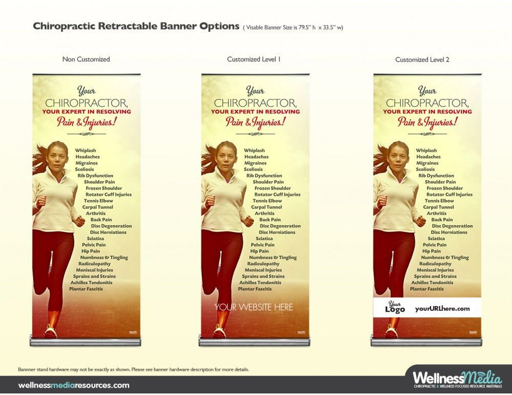 Chiropractic Pain and Injuries Banner